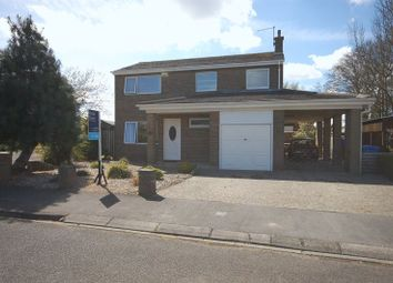 Thumbnail 4 bedroom detached house for sale in The Croft, Ulgham, Morpeth