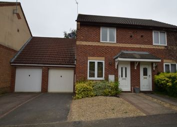 Thumbnail 2 bed semi-detached house to rent in Lupin Close, Kettering