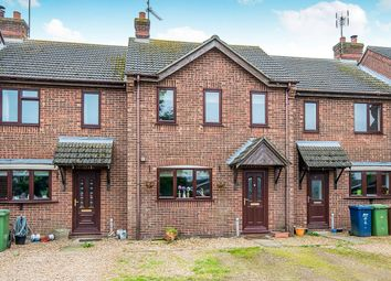 Thumbnail 2 bed terraced house for sale in Front Road, Murrow, Wisbech