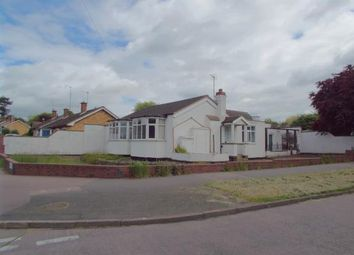 Thumbnail 3 bed bungalow for sale in Brook Road, Thurnby Lodge, Leicester, Leicestershire
