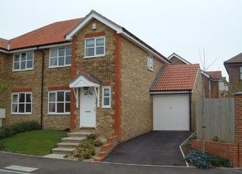 Thumbnail 3 bed semi-detached house to rent in Rosewood Drive, Ashford