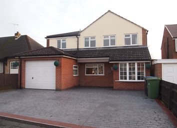 Thumbnail 4 bed detached house for sale in Forest Rise, Thurnby, Leicester