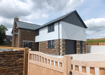 Thumbnail 4 bedroom detached house for sale in Ellbridge Lane, Hatt, Saltash, Cornwall