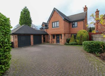 Thumbnail 5 bed detached house for sale in Holly Grange, Bramhall, Stockport