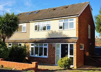 Thumbnail 4 bed semi-detached house for sale in Newlands Close, Brentwood