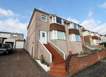 Thumbnail 3 bedroom semi-detached house for sale in Darwin Crescent, Crabtree, Plymouth