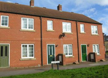 Thumbnail 2 bed terraced house to rent in Flawn Way, Eynesbury, St. Neots