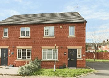 Thumbnail 3 bed semi-detached house for sale in Lido Close, Bulwell, Nottingham