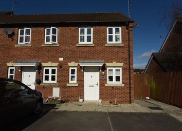 Thumbnail 2 bedroom end terrace house for sale in Lathkill Street, Market Harborough