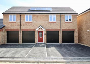 Thumbnail 2 bed detached house to rent in Merlin Road, Corby