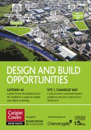 Thumbnail Land to let in Parkhouse Road, Gateway 44, Carlisle