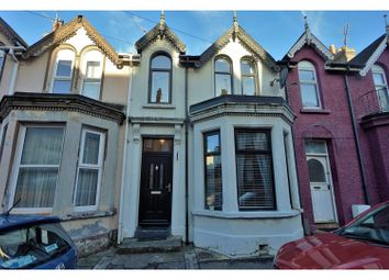 Thumbnail 3 bed terraced house for sale in Somerset Avenue, Bangor