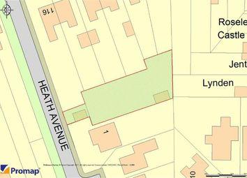 Thumbnail Land for sale in Heath Avenue, Sandbach