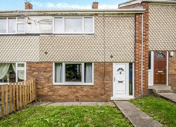 Thumbnail 2 bed terraced house for sale in Thackeray Walk, Knottingley