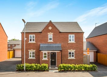 Thumbnail 3 bed detached house for sale in Blakeholme Court, Burton-On-Trent