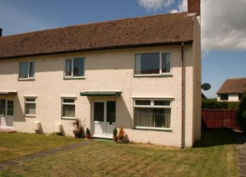 Thumbnail 2 bedroom semi-detached house for sale in Minffordd Road, Caergeiliog, Holyhead