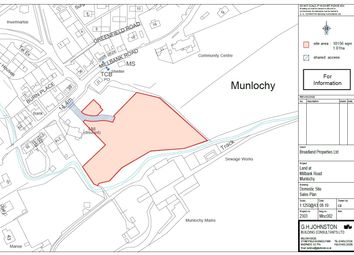 Thumbnail Land for sale in Millbank Road, Munlochy, Ross-Shire