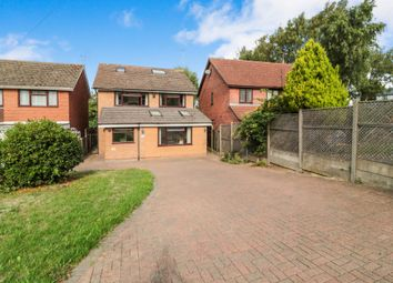 Thumbnail 5 bedroom detached house for sale in John Eliot Close, Nazeing, Waltham Abbey