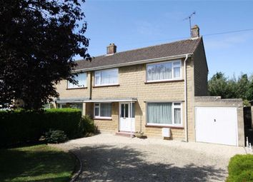 Thumbnail 3 bed semi-detached house for sale in Downham Mead, Chippenham, Wiltshire