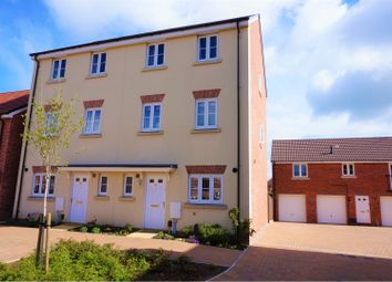 Thumbnail 4 bed semi-detached house for sale in Cricketers Close, Swindon