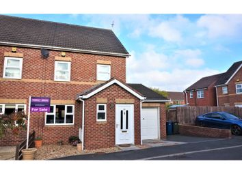 Thumbnail 3 bed semi-detached house for sale in Big Waters Close, Newcastle Upon Tyne