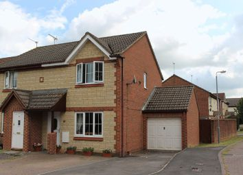 Thumbnail End terrace house for sale in Embry Close, Calne