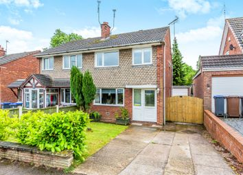 Thumbnail 3 bed semi-detached house for sale in Oakhill Close, Tean, Stoke-On-Trent