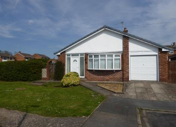 Thumbnail 3 bed detached bungalow for sale in Ffordd Aled, Wrexham