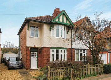 Thumbnail 3 bed semi-detached house for sale in Woodfield Road, Peterborough