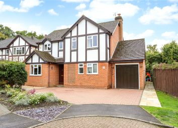 Thumbnail 4 bed detached house for sale in Du Maurier Close, Church Crookham, Fleet