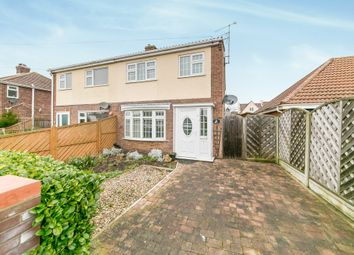 Thumbnail 3 bed semi-detached house for sale in Dove Crescent, Dovercourt, Harwich