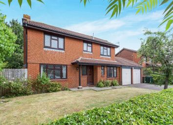 Thumbnail 4 bed detached house for sale in Crowhurst Close, Worth, Crawley, West Sussex