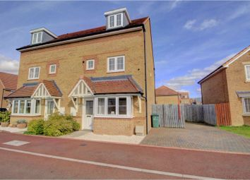 Thumbnail 4 bed semi-detached house for sale in Brock Close, Stockton-On-Tees