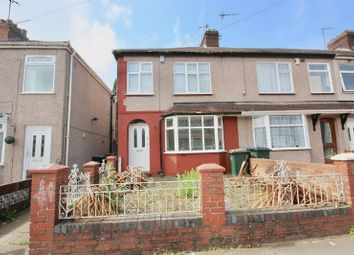 Thumbnail 3 bed end terrace house for sale in Meadow Road, Holbrooks, Coventry, 4Gu.