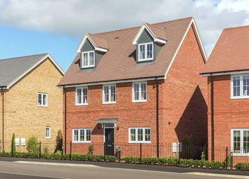"Thumbnail 4 bed detached house for sale in ""The Oatfield - Link Detached"" at Nosworthy Way, Mongewell, Wallingford"