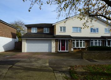 Thumbnail 5 bedroom semi-detached house for sale in Wood Drive, Stevenage, Hertfordshire