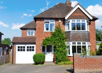 Thumbnail 4 bed detached house for sale in Rectory Close, Newbury