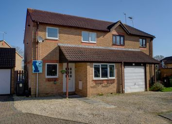 Thumbnail 3 bed semi-detached house for sale in Bancroft Close, Grange Park, Swindon