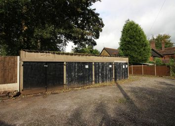 Thumbnail Parking/garage for sale in Block Of Lock Up Garages At, The Coppins Beech Dene, Westwood Road, Leek, Staffordshire