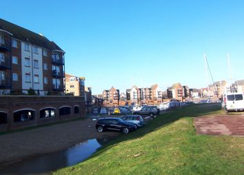 Thumbnail 2 bed flat to rent in Bermuda Place, Sovereign Harbour South, Eastbourne