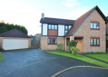 Thumbnail 4 bed detached house for sale in Duxford Court, Doncaster