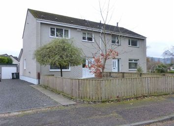 Thumbnail 3 bed semi-detached house for sale in Burnbank, Bridge Of Earn, Perthshire