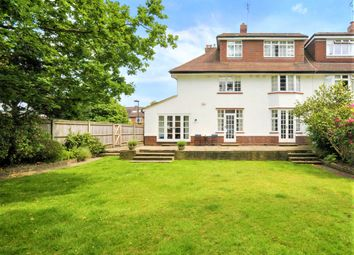 Thumbnail 7 bed detached house to rent in Sheen Lane, East Sheen, London