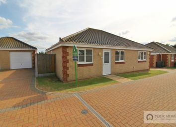 Thumbnail 3 bed bungalow for sale in Mill Lane, Bradwell, Great Yarmouth