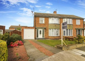 Thumbnail 3 bed semi-detached house to rent in Corbridge Avenue, Wideopen, Newcastle Upon Tyne