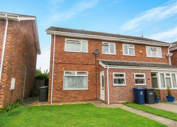 Thumbnail 3 bed semi-detached house for sale in School Road, Earith, Huntingdon
