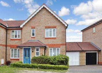 Thumbnail 3 bed semi-detached house to rent in Claremont Crescent, Newbury