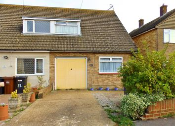 Thumbnail 3 bed semi-detached house for sale in Westfield Close, Polegate