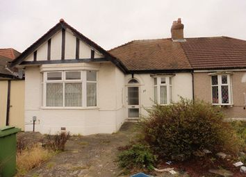 Thumbnail 3 bed bungalow to rent in Kelston Road, Ilford
