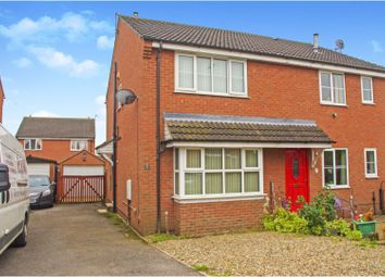 Thumbnail 2 bed semi-detached house for sale in Millers Road, Thirsk